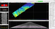 Multibeam sound map