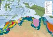 Geomorphology of the seafloor within and beyond the Oceanic Shoals CMR